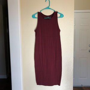 Burgundy Tank Dress ♡